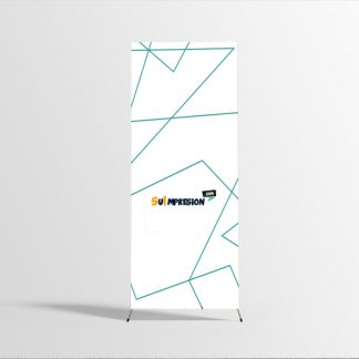 X Banner publicitario