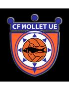 Escudo CF Mollet UE