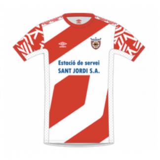 Samarreta 1ª equipació CF Mollet